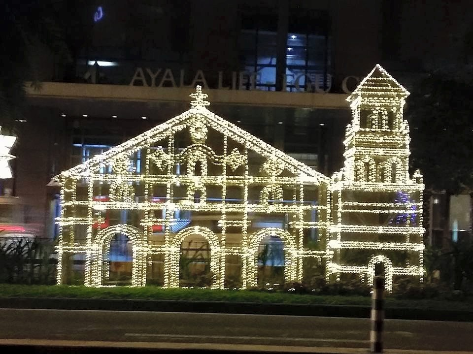 Baclayon Philippines  city photos : ... Lights Up Christmas with Philippines' Oldest Churches Fotograpiya