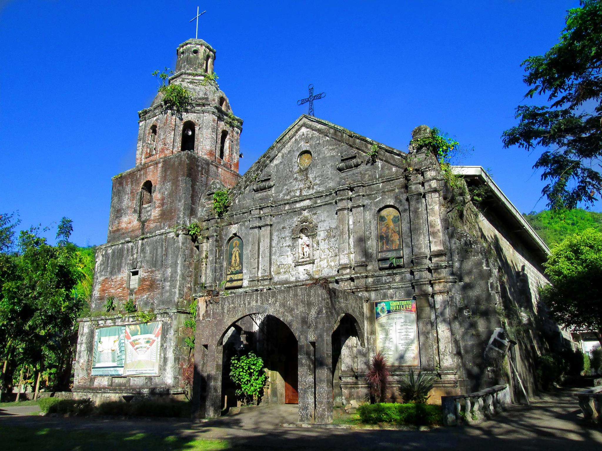 Longos Church in Kalayaan, Laguna Province