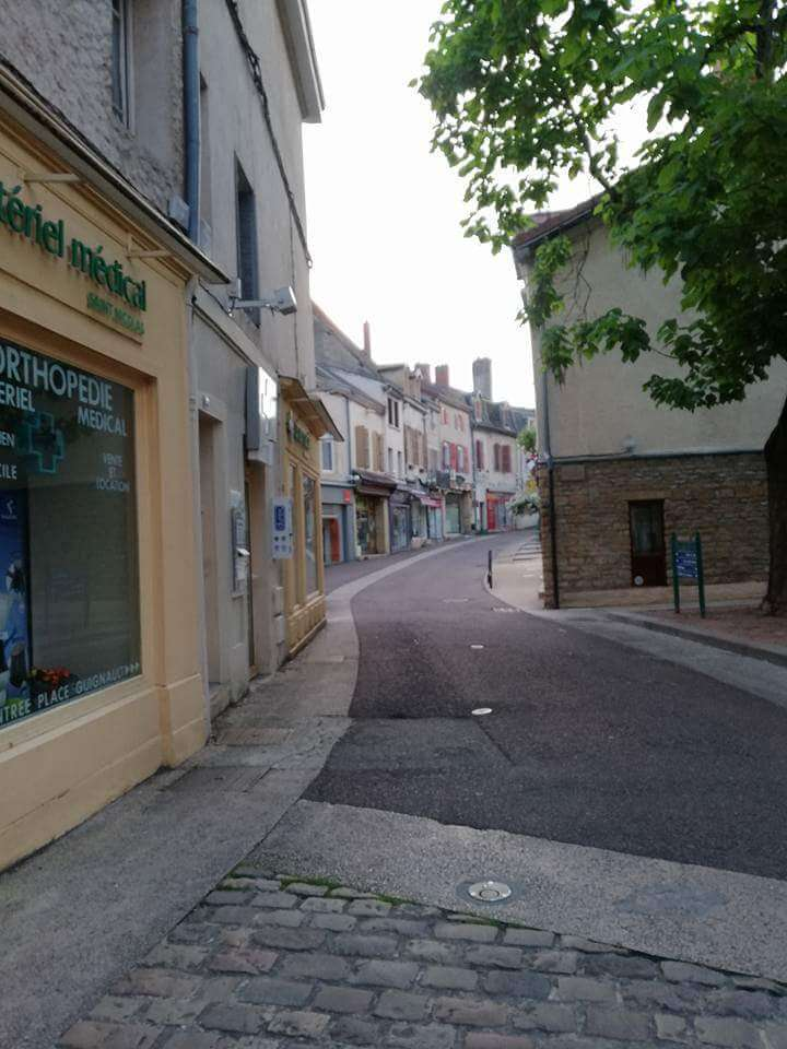 Old town feel of Paray-Le-Monial